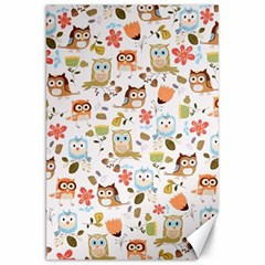 Cute Owl Canvas 20  X 30