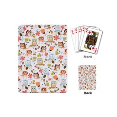 Cute Owl Playing Cards (mini)