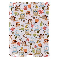 Cute Owl Apple iPad 3/4 Hardshell Case (Compatible with Smart Cover)