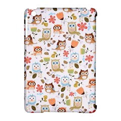 Cute Owl Apple Ipad Mini Hardshell Case (compatible With Smart Cover)