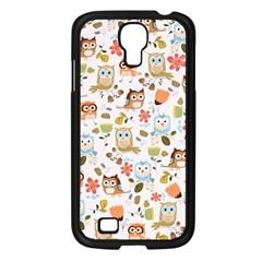 Cute Owl Samsung Galaxy S4 I9500/ I9505 Case (black)