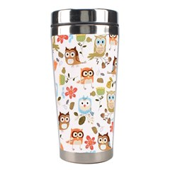 Cute Owl Stainless Steel Travel Tumblers