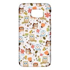 Cute Owl Galaxy S6