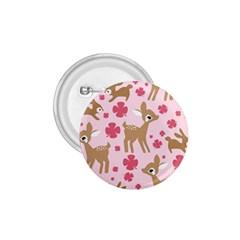 Preety Deer Cute 1 75  Buttons