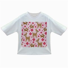 Preety Deer Cute Infant/toddler T Shirts