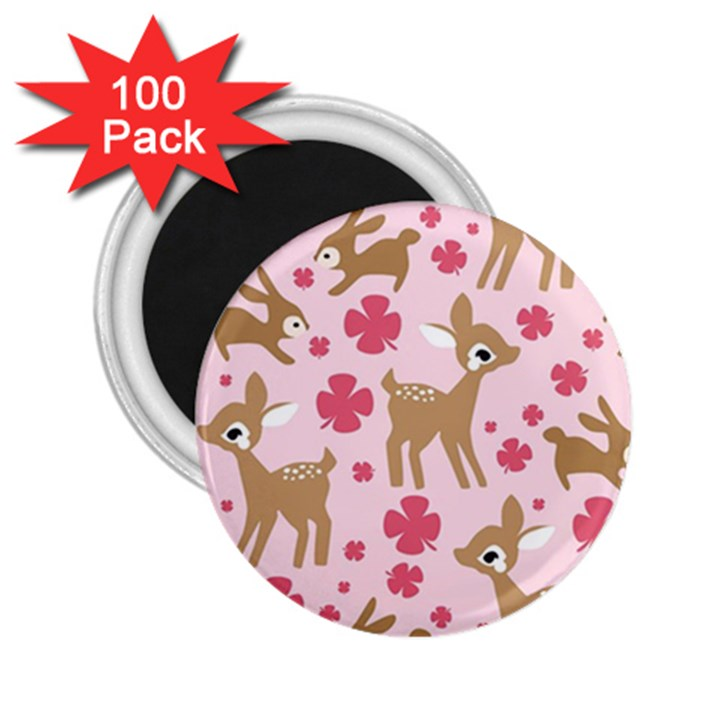 Preety Deer Cute 2.25  Magnets (100 pack)