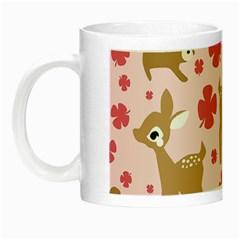 Preety Deer Cute Night Luminous Mugs