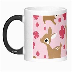 Preety Deer Cute Morph Mugs