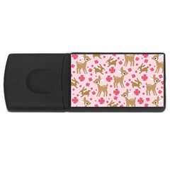 Preety Deer Cute Usb Flash Drive Rectangular (4 Gb)
