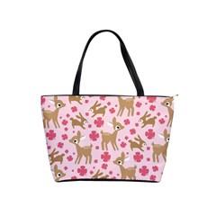 Preety Deer Cute Shoulder Handbags