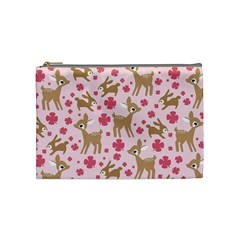 Preety Deer Cute Cosmetic Bag (Medium)