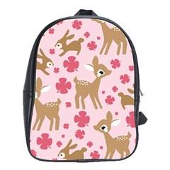 Preety Deer Cute School Bags(large)