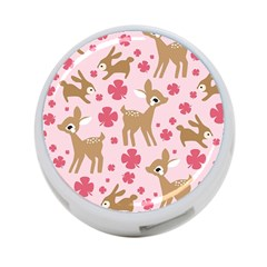Preety Deer Cute 4 Port Usb Hub (one Side)