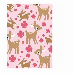 Preety Deer Cute Large Garden Flag (two Sides)