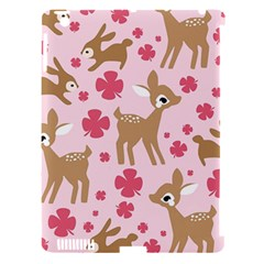 Preety Deer Cute Apple Ipad 3/4 Hardshell Case (compatible With Smart Cover)