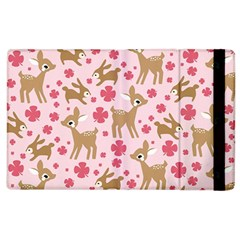 Preety Deer Cute Apple Ipad 3/4 Flip Case