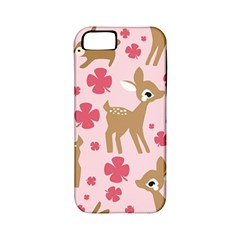 Preety Deer Cute Apple Iphone 5 Classic Hardshell Case (pc+silicone)