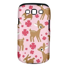 Preety Deer Cute Samsung Galaxy S Iii Classic Hardshell Case (pc+silicone)