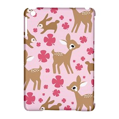 Preety Deer Cute Apple Ipad Mini Hardshell Case (compatible With Smart Cover)