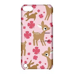 Preety Deer Cute Apple Ipod Touch 5 Hardshell Case With Stand