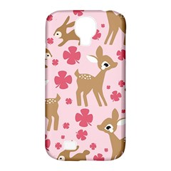 Preety Deer Cute Samsung Galaxy S4 Classic Hardshell Case (pc+silicone)