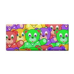 Cute Cartoon Crowd Of Colourful Kids Bears Cosmetic Storage Cases