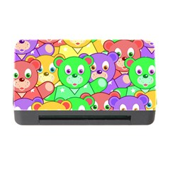 Cute Cartoon Crowd Of Colourful Kids Bears Memory Card Reader with CF