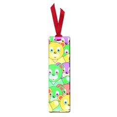 Cute Cartoon Crowd Of Colourful Kids Bears Small Book Marks