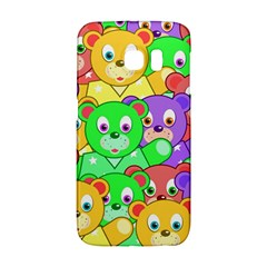Cute Cartoon Crowd Of Colourful Kids Bears Galaxy S6 Edge