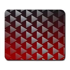 Netflix Play Button Pattern Large Mousepads