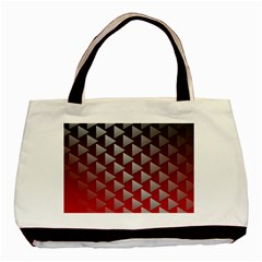 Netflix Play Button Pattern Basic Tote Bag (Two Sides)