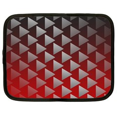 Netflix Play Button Pattern Netbook Case (large)
