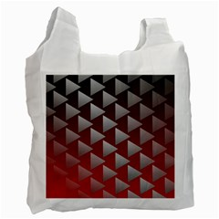 Netflix Play Button Pattern Recycle Bag (One Side)