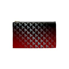 Netflix Play Button Pattern Cosmetic Bag (Small)