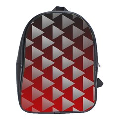 Netflix Play Button Pattern School Bags(large)