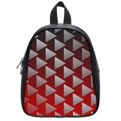 Netflix Play Button Pattern School Bags (small)