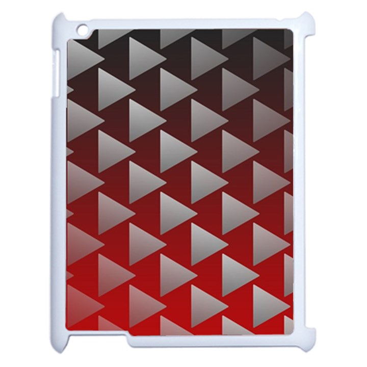 Netflix Play Button Pattern Apple iPad 2 Case (White)