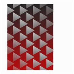Netflix Play Button Pattern Small Garden Flag (two Sides)
