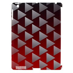 Netflix Play Button Pattern Apple iPad 3/4 Hardshell Case (Compatible with Smart Cover)