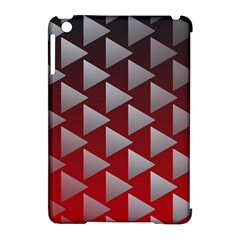 Netflix Play Button Pattern Apple Ipad Mini Hardshell Case (compatible With Smart Cover)