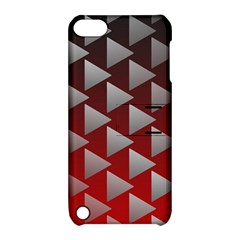 Netflix Play Button Pattern Apple Ipod Touch 5 Hardshell Case With Stand