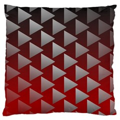 Netflix Play Button Pattern Large Flano Cushion Case (one Side)