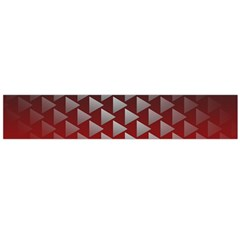 Netflix Play Button Pattern Flano Scarf (large)
