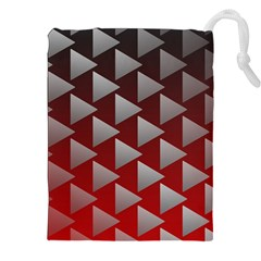 Netflix Play Button Pattern Drawstring Pouches (XXL)