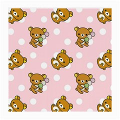 Kawaii Bear Pattern Medium Glasses Cloth (2-Side)