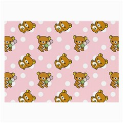 Kawaii Bear Pattern Large Glasses Cloth