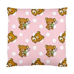 Kawaii Bear Pattern Standard Cushion Case (One Side)