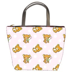 Kawaii Bear Pattern Bucket Bags
