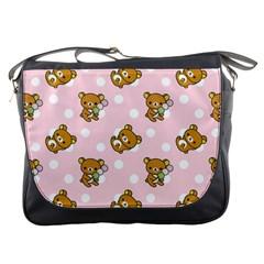 Kawaii Bear Pattern Messenger Bags