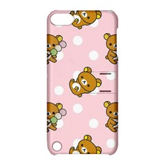 Kawaii Bear Pattern Apple iPod Touch 5 Hardshell Case with Stand